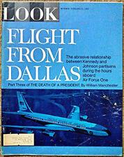 FEBRUARY 21, 1967 LOOK Magazine - JFK - MEDICS IN VIETNAM - LEW ALCINDOR !
