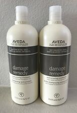 Aveda Damage Remedy Shampoo & Conditioner 33.8oz/1000ml Liter New! FREE SHIP!