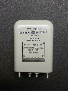 NOS GE General Electric Filter Reactor Choke 30 H Henries Hy 25mA DC 1000 Ohms