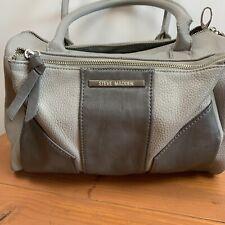 Steve Madden Grey Medium Barrel Handbag