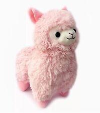 CLEARANCE SALE - LARGE 37cm Tall Kawaii Alpaca Llama Plush Pastel Pink Cute