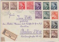 Echte Briefmarken aus Böhmen & Mähren (bis 1945) mit Bedarfsbrief