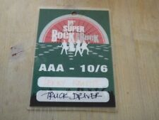 Lenny Kravitz  VERY RARE  Super Bock  2004  Green Access All Areas Pass/Laminate