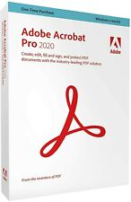 [Black Friday] Adobe Acrobat Pro DC 2020 One PC or Mac EBAYLONGTIMEMEMBER