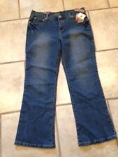 Girls 12 P PLUS Jeans STAR RIDE Denim NEW w/ Tags Embellished Pockets