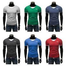 Herren-T-Shirts aus Baumwollmischung mit Stretch in Größe 2XL