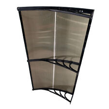 DIY Patio 2M x 1M Overhead Clear Awning Cover Door Window PE Outdoor
