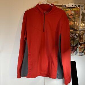 Nike Nikegolf Tour Performance Budweiser Sweat Shirt Pullover Jacket Size: L