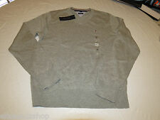 Mens Tommy Hilfiger long sleeve sweater shirt Pima Cotton 7864540 grey 004 L