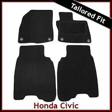 Honda Civic Type R Facelift Mk8 2008-2011 Tailored Carpet Car Mats BLACK