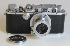 LEITZ WETZLAR Kamera LEICA IIIa Analogkamera ELMAR 3,5/50 - 5cm - Baujahr 1934