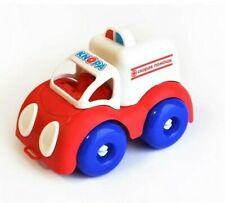 Ambulance Toy Car Vehicle Plastmaster Knopa Russia UNDESTROYABLE