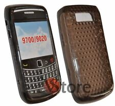 Cover Case TPU Gel Black for Blackberry 9700 Bold Silicone