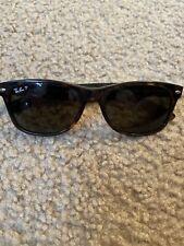 Ray-Ban RB 2132 New Wayfarer 902/58 Tortoise Frame Brown 58 Polarized Sunglasses