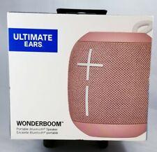 Logitech UE WONDERBOOM Portable rose gold Waterproof Bluetooth Wireless Speaker