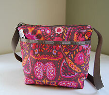 LeSportsac 7562 Small Cleo Crossbody Bag Flower Child