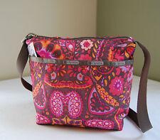 LeSportsac 7562 Small Cleo Crossbody Bag Flower Child
