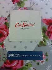 100% Cotton Cath Kidston Patchwork Rose KING SIZE Duvet Cover + 2 Pillowcase £80