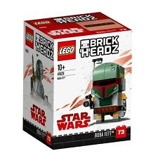 LEGO Star Wars BrickHeadz (41629) Boba Fett (Brand New & Sealed) Retired Set