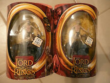 TWO NEW Lord of the Rings / TWO TOWERS: SMEAGOL w/ Electronic Base
