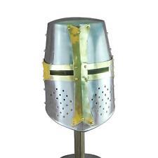 Mythrojan Templar Crusader Helmet (Without Liner) 20g - Polished Finish