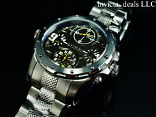 Invicta Men's 50mm COALITION FORCES SPECIAL OPS. Quad Time GUNMETAL Tone Watch