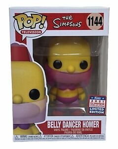 The Simpsons Belly Dance Homer Exclusive Funko Pop Vinyl Figure 1144 Television