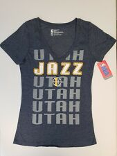 Utah Jazz Womens Short Sleeve Mesh Burnout T-Shirt  b25d60ee3