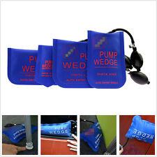 4 Pcs DIY Portable Car SUV Door Pump Air Wedge Airbag Locksmith Tool Unlock Blue