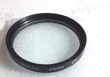 UV Lens Safety Protector Filter For Canon VIXIA HF M41 M50 M52 M400 M500 HFM40