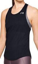 Under Armour Streaker 2.0 Racer Womens Running Vest Tank Top - Black