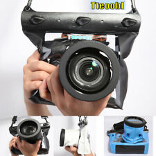 Swim Underwater Waterproof DSLR Camera Bag Housing Case Pouch For Canon Nikon