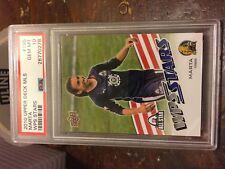 2010 Upper Deck MLS WPS Stars Marta RC PSA 10 Gem Mint Pop=3 GOAT