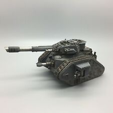 WARHAMMER 40,000 IMPERIAL GUARD LEMAN RUSS VANQUISHER FORGE WORLD TURRET PAINTED