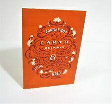 Earth Delights Unlined Blank Notebook great for Junk Journals Scrapbooking