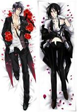 Anime Black Butler Sebastian Michaelis Cosplay Costume Hugging Body Pillow Case