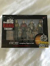 SDCC 2017 Entertainment Earth Star Trek The Big Bang Theory Cosplay Figure Set