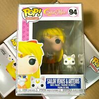 "Funko Pop Sailor Moon : SAILOR VENUS & ARTEMIS #94 Vinyl ""MINT"""