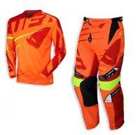 Fox Racing 360 Motocross Mx Kit Pantaloni Jersey Viza Arancio