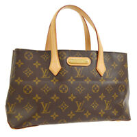 LOUIS VUITTON WILSHIRE PM HAND TOTE BAG MONOGRAM M45643 WA00394c