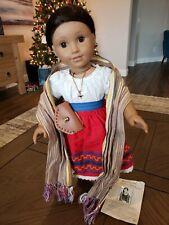 American Girl Josefina Doll, Meet outfit, Rebozo, Moccasins! EUC*** FAST SHIP***
