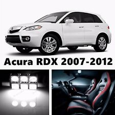 13pcs LED  Xenon White Light Interior Package Kit for Acura RDX 2007-2012