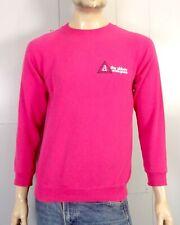 vtg 80s Hanes pink Raglan Sleeve The Abbey on Lake Geneva Sweatshirt sz M