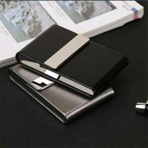 Men Metal RFID Blocking Slim Metal Money Clip Wallet Credit Card ID Holder YW