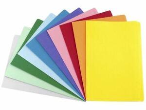 Coloured Avery Foolscap Manilla File Folder 100Pk 500Pk or 10Pk Multi Col.