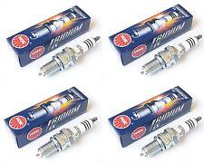 Kawasaki ZX6R F1-F3 1995-1997 CR9EIX NGK Iridium Spark Plugs Full Set