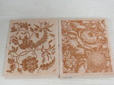 Anna Griffin 580K06 580K01 Floral Hydrangea Rose Peony Rubber Stamp Set P738K
