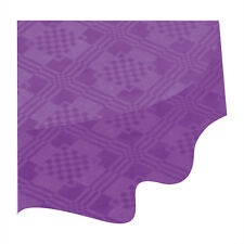 Purple Paper Table Cloths 5 10 15 20 25 Party Tablecloths Covers Damask Dispo 1 Sample