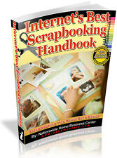 INTERNET'S BEST SCRAPBOOKING HANDBOOK PDF EBOOK FREE SHIPPING RESALE RIGHTS