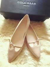 NIB Cole Haan Indra Skimmer. II Womens Patent Leather Ballet Flats Size 5